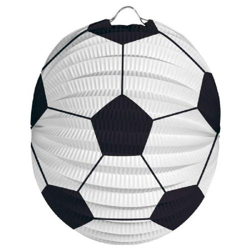 Football Party Lantern 22cm Soccer MLS SPL PL World Cup European
